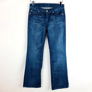 7 For All Mankind Flip Flop Boot Cut Denim Jeans